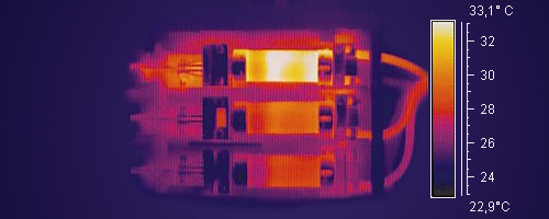 Fault detection - infra-red thermography