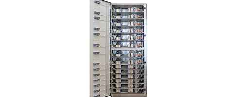Compact low voltage switchgear system